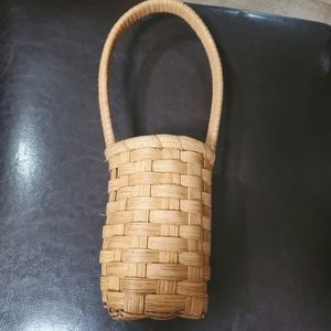 Basket with Tall Handle